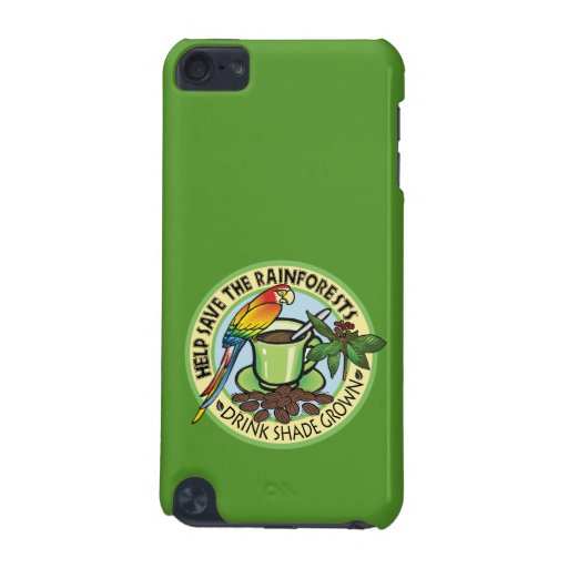 Shade Grown Coffee iPod Touch 5G Covers