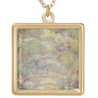 Shaded Path, c.1920 (oil on canvas) Pendant