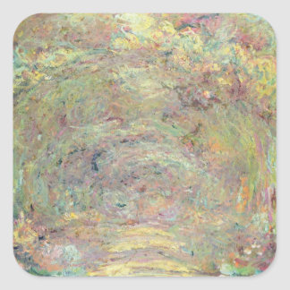 Shaded Path, c.1920 (oil on canvas) Square Sticker