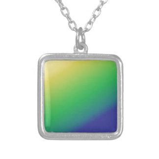 Shades Green Yellow Add text image greeting Custom Jewelry