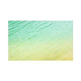 Shades of a lake canvas print