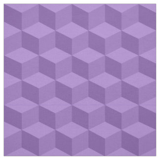 Shades of Amethyst 3D Look Cubes Pattern 20P Fabric