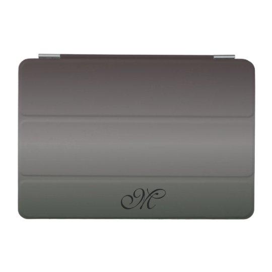 Shades Of Black Monogram iPad Mini Cover