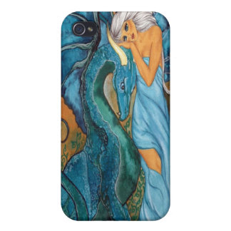 Shades of Blue (Fitted) iPhone 4/4S Speck Hard She iPhone 4 Cases