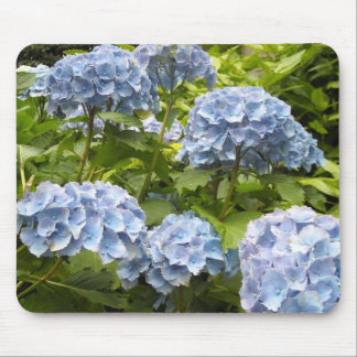Shades of Blue Hydrangeas Mouse Mat