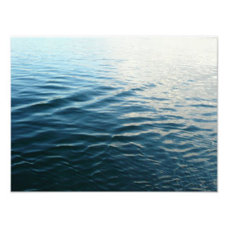 Shades of Blue Photo Print