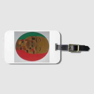 """""""Shades of Brown"""" - Luggage Tag"""