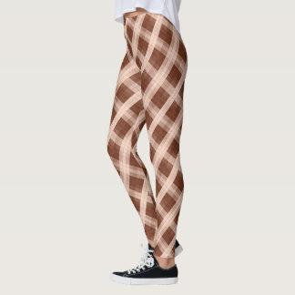 Shades-of Brown Model#3-C Modern Leggings