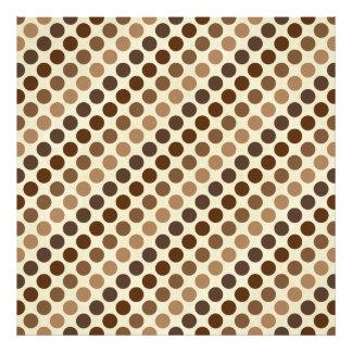 Shades Of Brown Polka Dots Photo