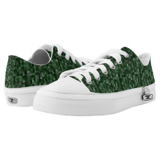 Shades Of Forest Green Low Tops