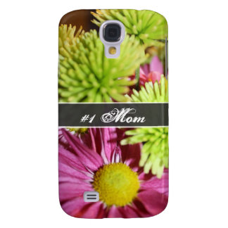 Shades of Green and Pink Galaxy S4 Case