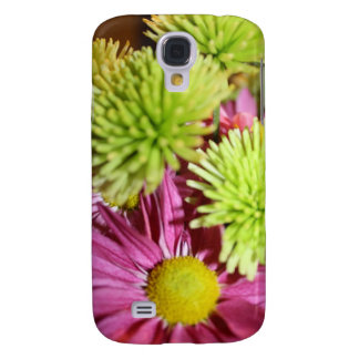 Shades of Green and Pink Samsung Galaxy S4 Case