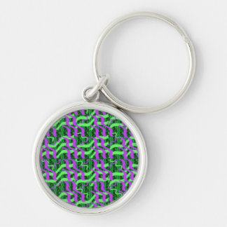 Shades of Green Sparkle Energy Key Chains