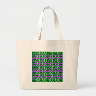 Shades of Green Sparkle Energy Jumbo Tote Bag