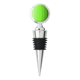 Shades of Green Wine Stopper