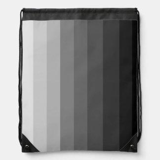 Shades of Grey Drawstring Backpack
