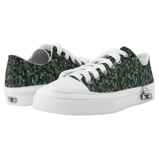 Shades Of Night Green Low Tops