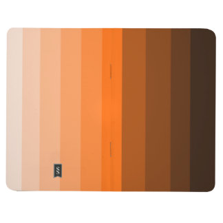 Shades of Orange Pocket Journal