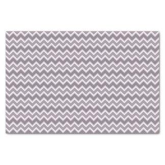 Shades of Purple Chevron Striped Tissue Paper