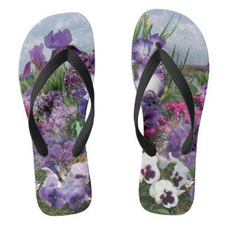 shades of purple flip-flops flip flops