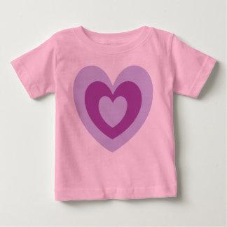 Shades Of Purple Heart Tee Shirt