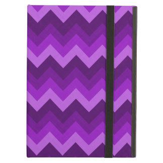 Shades of Purple LG Hombre Chevron ZigZag Pattern iPad Air Case