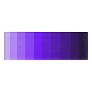 Shades of Purple Name Tag