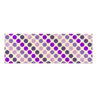 Shades Of Purple Polka Dots Photograph