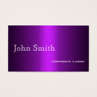 Shades of Purple Standard Business Cards