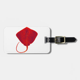 SHADES OF RED LUGGAGE TAG
