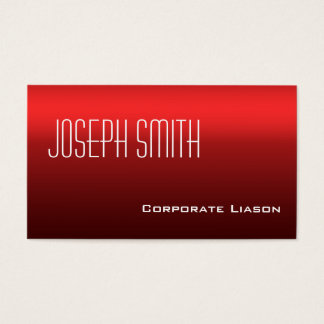 Shades of Red Standard Business Cards