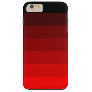 Shades of Red Tough iPhone 6 Plus Case