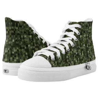 Shades Of Rifle Green High Tops