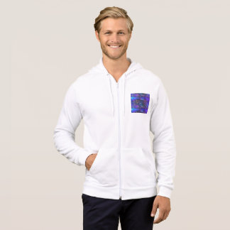 shades of sky blue sky abstract universe hoodie