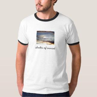 shades of sunset tshirt