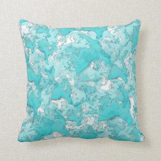 Shades Of Teal Cushion