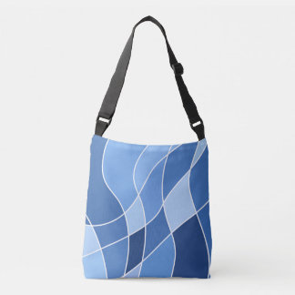 Shades Of The Blue Sky - Crossbody Bag