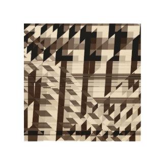 shades wood print