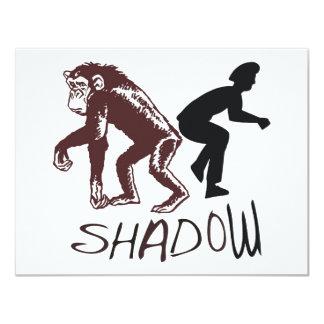 Shadow 11 Cm X 14 Cm Invitation Card