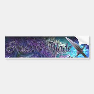 Shadow Blade Bumper Sticker