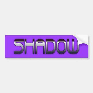Shadow Bumper Sticker
