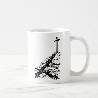 Shadow Cross Classic White Coffee Mug