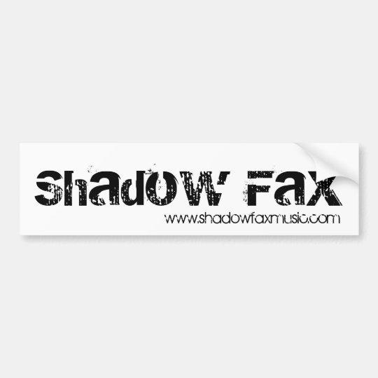 Shadow Fax Bumper Sticker