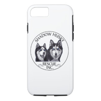 Shadow Husky Rescue Logo iPhone 7 Tough Case