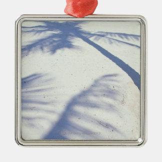 Shadow of Palm Tree 2 Christmas Ornament