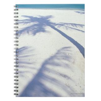 Shadow of Palm Tree 2 Notebook