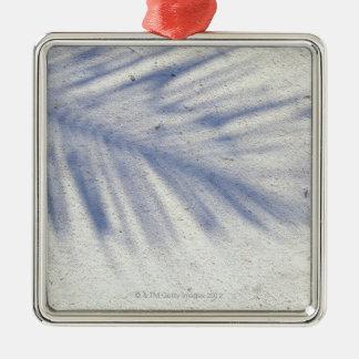 Shadow of Palm Tree 3 Christmas Ornament