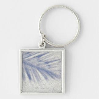 Shadow of Palm Tree 3 Key Ring
