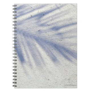 Shadow of Palm Tree 3 Notebook