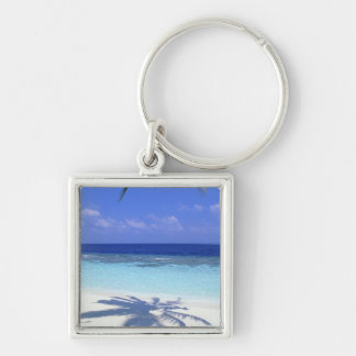 Shadow of Palm Tree Key Ring